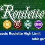 hoge-limiet-roulette
